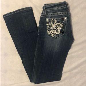 Miss Me boot cut medium wash jeans